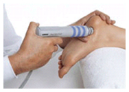 image of shockwave therapy